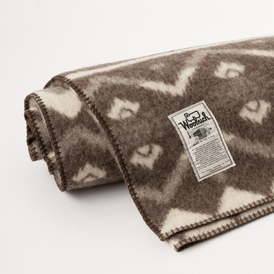 【SALE 45%OFF】WOOLRICH Somerton ジャガードブランケット(Natural)